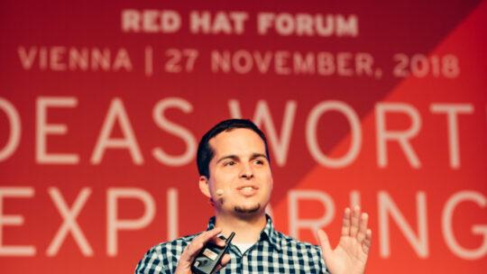 Simon Lasselsberger redhat Forum 2018 Vienna